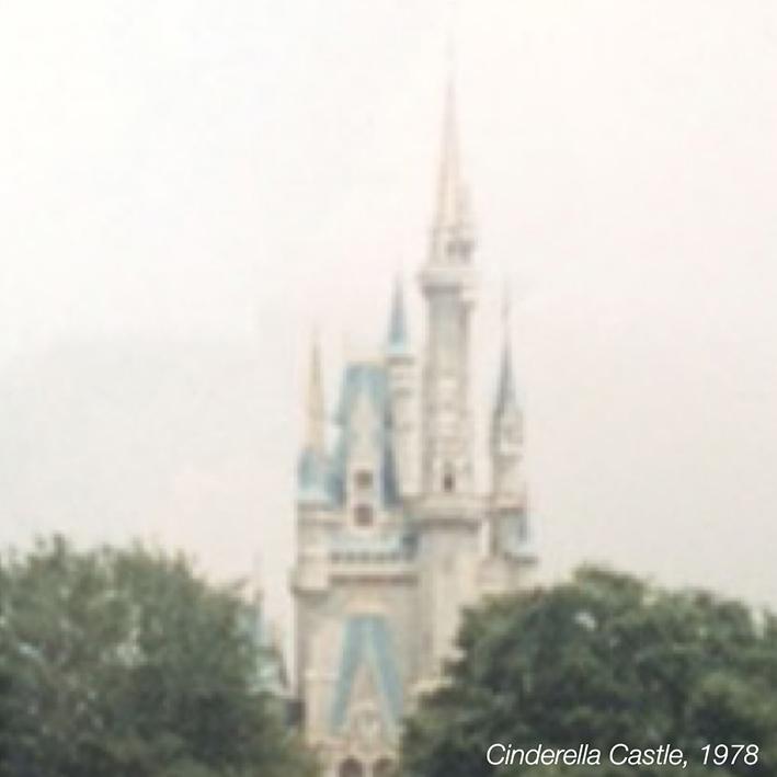 Cinderella Castle, 1978