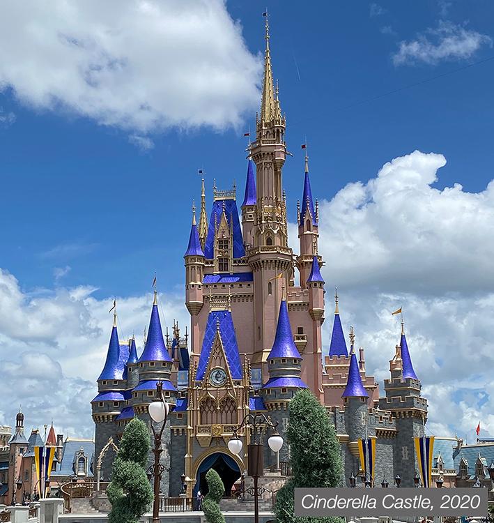 Cinderella Castle, 2020