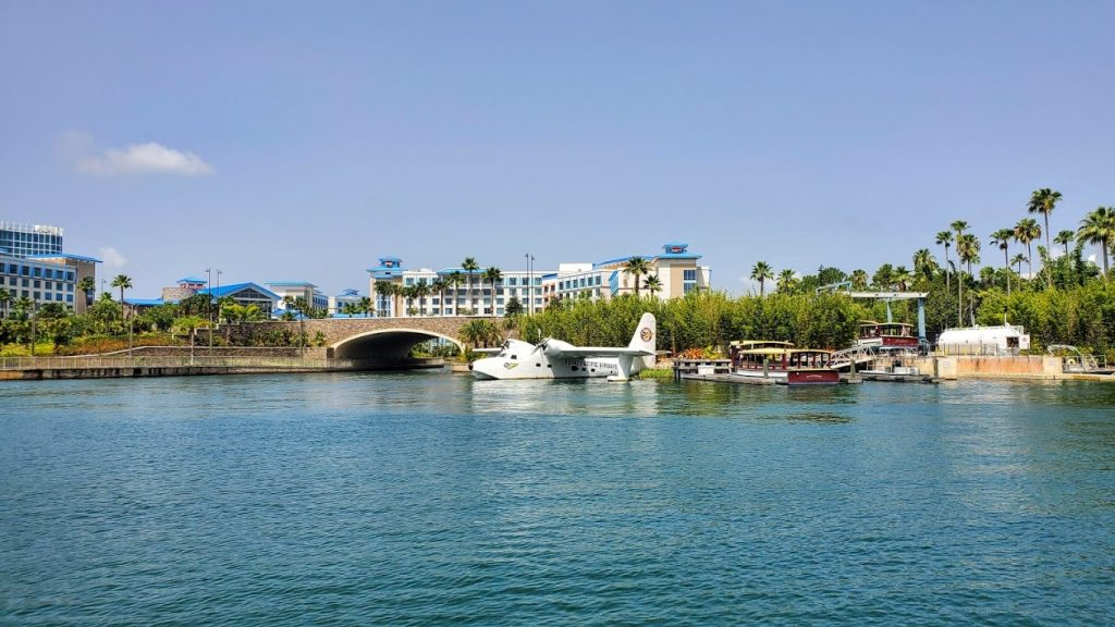 Waterway to the theme parks